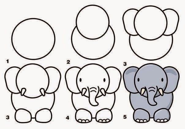 Mewarnai Gambar Gajah Afrika Gajah Afrika Gajah Gambar