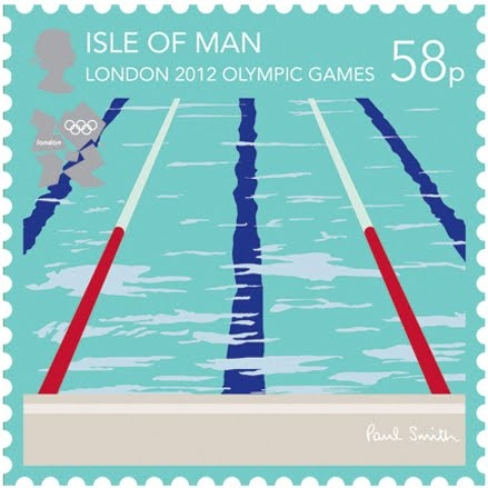 2012 London Olympics Stamps: Swimming: Olympics Games, London 2012, Prints Patterns, 2012 Olympics, Paul Smith, Olympics Stamps, Isle Of Man, Doce Paul, Postage Stamps