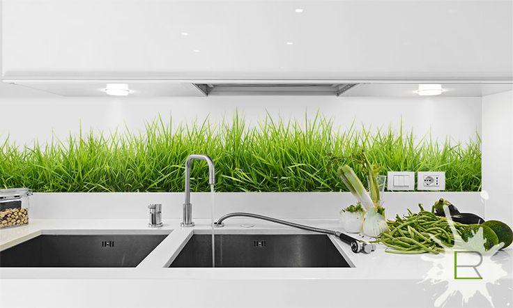 Szkło w kuchni – rozwiązanie funkcjonalne i efektowne! www.lemonroom.pl
