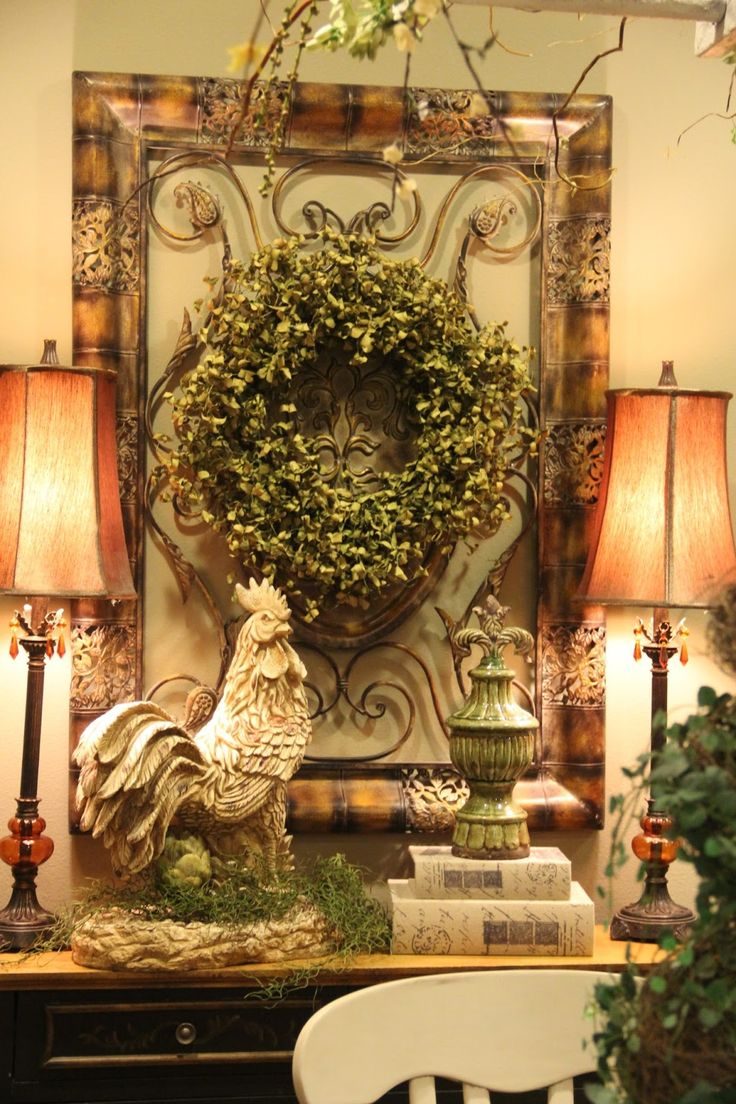 wonderful vignette country french decor - Country French Decor