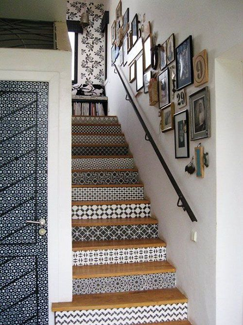 Decoración original para tus escaleras