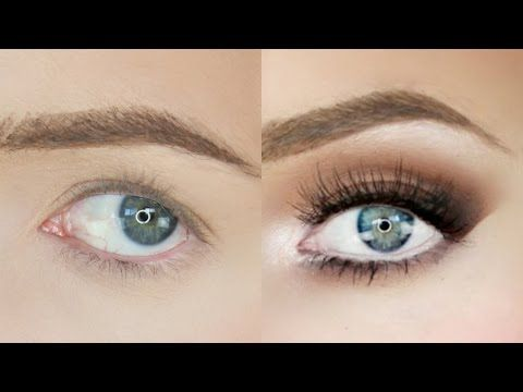Droopy Eyes Makeup Tutorial! | Stephanie Lange - YouTube