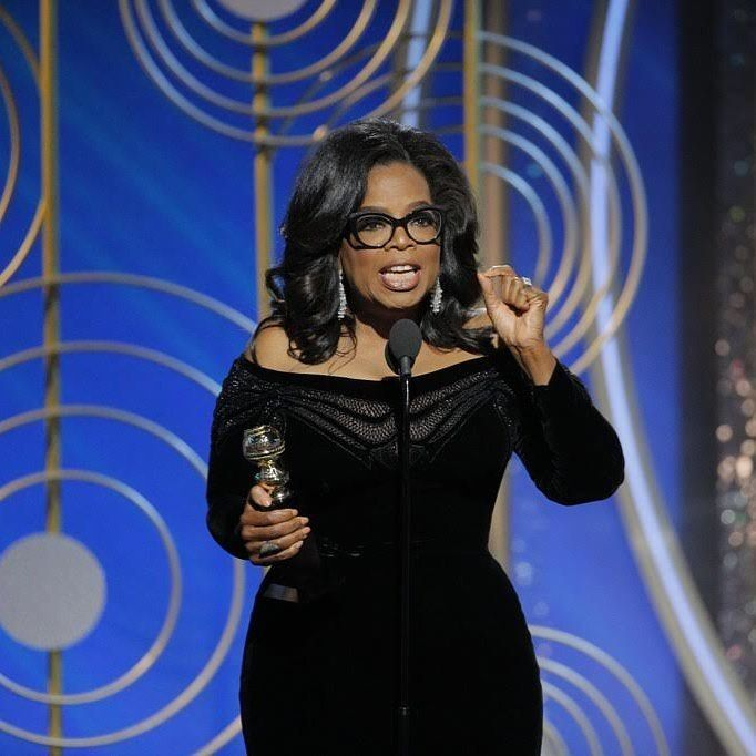 "While accepting the Cecil B. DeMille Award for lifetime achievement at the Golden Globes (the first black woman ever to do so), Oprah Winfrey seemed to grab hold of every live wire of rage, sadness, hope, and uncertainty dangling around the room and channel them into a truly breathtaking oration. It was a galvanizing and important speech, forward-looking and inclusive: the kind we used to hear from the person running the country. No wonder everyone on Twitter immediately posted ""OPRAH 2020.""…"