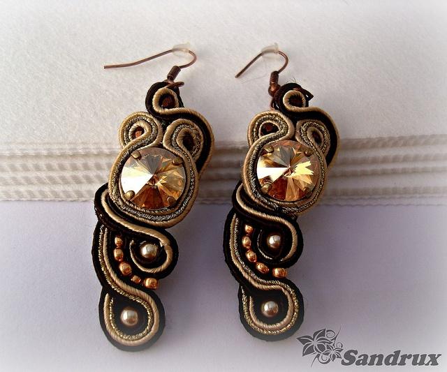 Pendientes soutache earrings