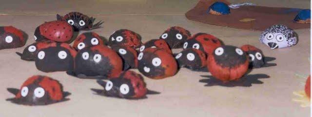 animais castañas