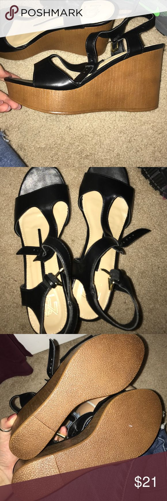 New directions women's high heels Black and white high heels • Women's 8.5 • Never been worn new directions Shoes Heels