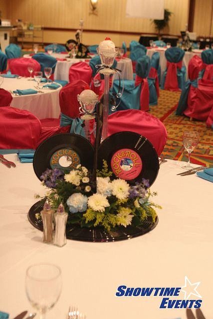 Best images about fifties centerpieces on pinterest
