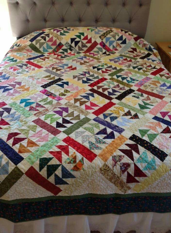 19 Best Quilts Dutchmans Puzzle Images On Pinterest Block Quilt