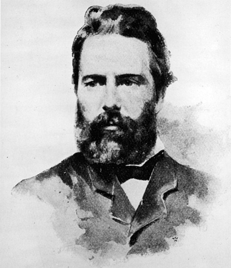 """""""Viaggiare verso una natura grande e generosa è come una seconda nascita. Tende a insegnare una profonda umiltà e al tempo stesso allarga la sfera della comprensiva benevolenza fino a includere l'intera razza umana."""" da Herman Melville (1º agosto 1819 – 28 settembre 1891) è stato uno scrittore, poeta e critico letterario statunitense, autore nel 1851 del romanzo Moby Dick."""