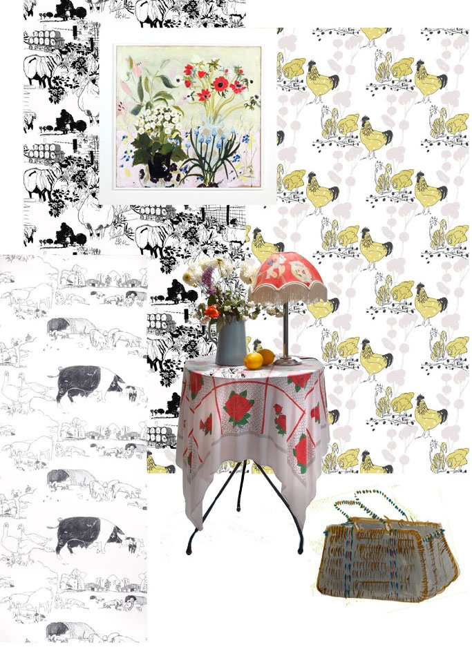 wallpaper by Belynda Sharples available through http://www.theartofwallpaper.com/