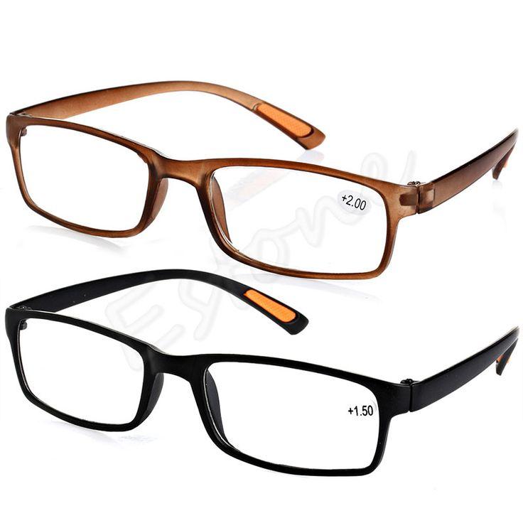 [LvDing] Unisex Comfy Schwarz Braun Resin Gerahmte Lesen Presbyopie Brille 1,00 1,50 2,00 2,50 3,00 3,50 4,00 Dioptrien 2 farben