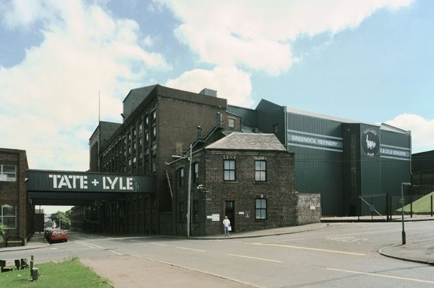 Greenock Renfrewshire Scotland | ... iconic 143-year-old sugar warehouse into Scotland's first Tate Gallery