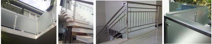 railing kaca~stainless