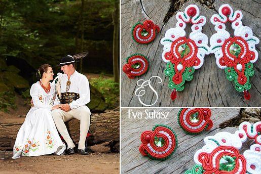 Ślub w stylu góralskim #soutache #wedding #srebrnaagrafka