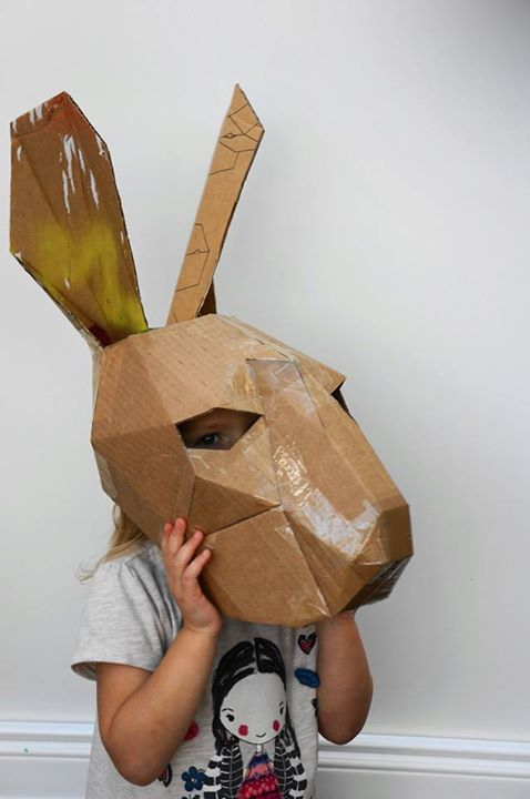 The Rabbit  The 18 Most Stunning 3D Masks Created By A Talented Designer • Page 4 of 5 • BoredBug