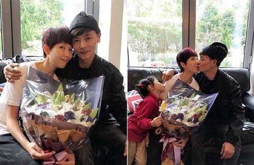 Ada Choi and Max Zhang Celebrate 9th Anniversary