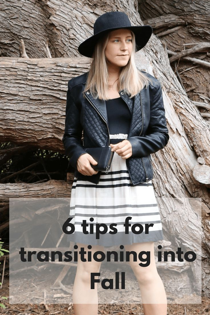 6 tips for transitioning your outfit into the cooler months