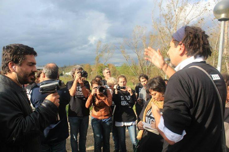 Biocidio Tour, Terra dei Fuochi. Giugliano, Campania.