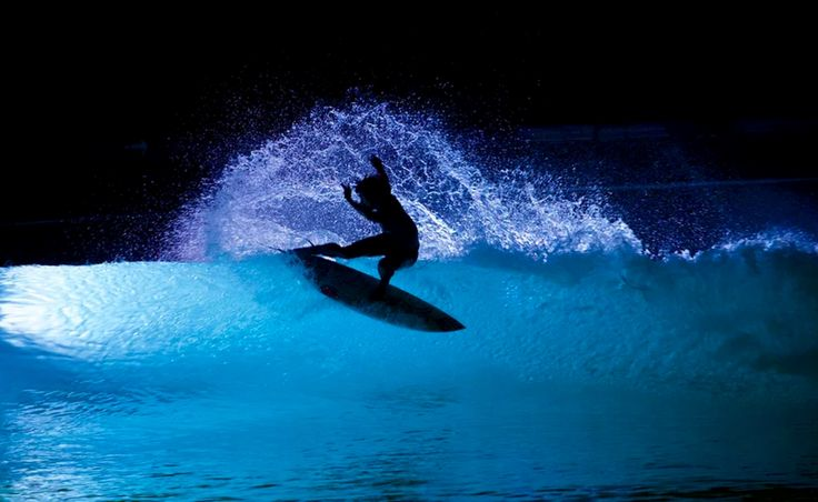 This Night Surfing Video Is Incredibly Beautiful. Truly amazing.