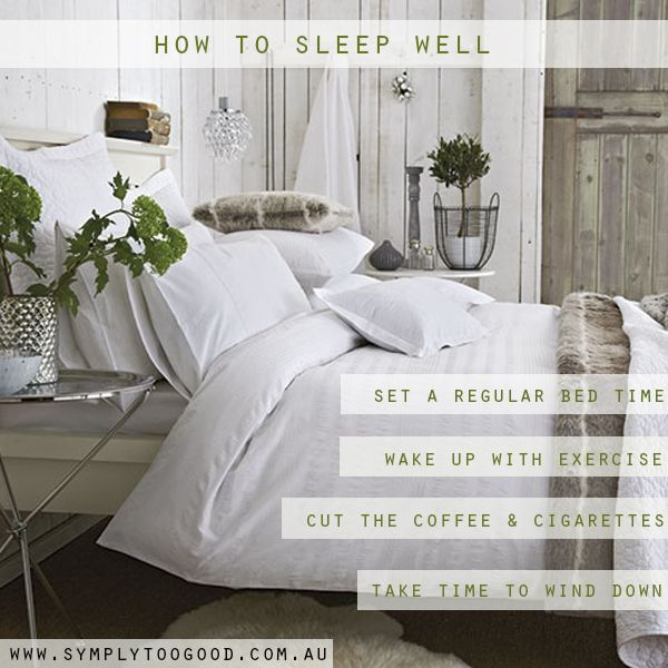 A good night's sleep can make all the difference with how you conquer the day...Here are some tips to help you achieve an optimal sleep!