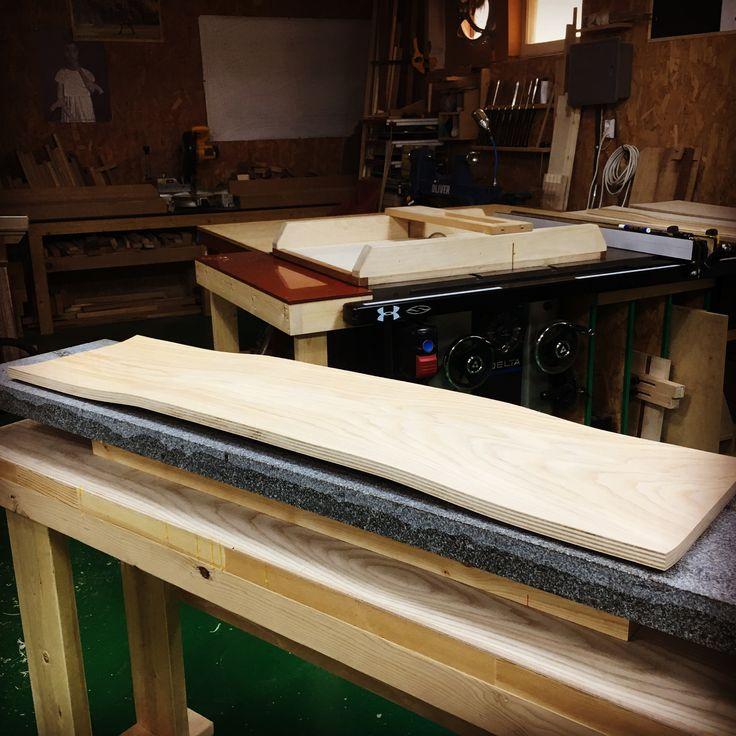 blank longboard decks