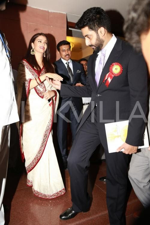 Aishwarya, Abhishek and Jaya Are a Proud Family At the 63rd National Film Awards | PINKVILLA