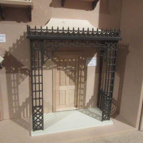 Casa-De-Munecas-Escala-12th-DHD2202-Victoriano-porche-kit-sin-pintar