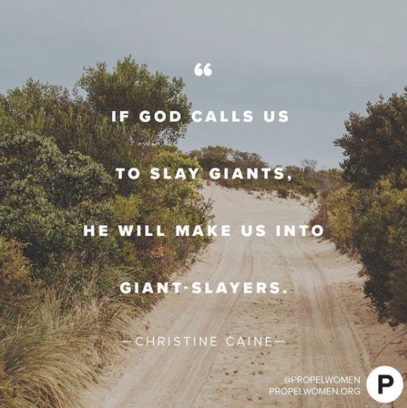 If God wants you to do something, He will give you everything necessary to accomplish it! —Christine Caine