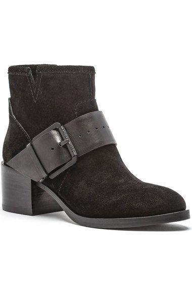 ANDREW MARC Audrey Block Heel Bootie (Women). #andrewmarc #shoes #boots
