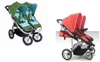 Should I get the Stroll-Air My Duo or the Bumbleride Indie Twin?    #twins #strollers #doublestrollers