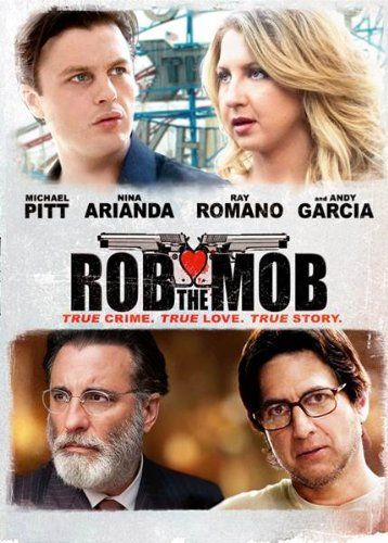 ROB THE MOB-A thrilling and poignant crime-thriller about two lovers whose daring heists of Mafia social clubs result in a discovery that could forever change the face of organized crime in America. The film is based on the true story of Thomas and Rosemarie Uva.