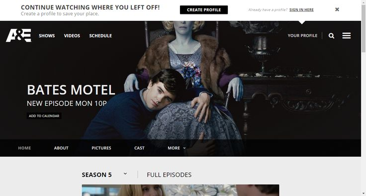 Bates Motel Full Episodes, Video