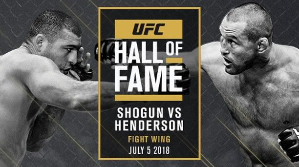 Ufc 139 Mauricio Shogun Rua Shogunoficial And Dan Henderson Danhendo To Be Inducted Into Ufc Hall Of Fame Ufc Announced That Ufc Ufc News Hall Of Fame