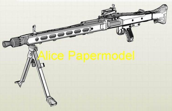 alice-papermodel-1-1-wwii-german-mg42-mg.jpg (770×497)