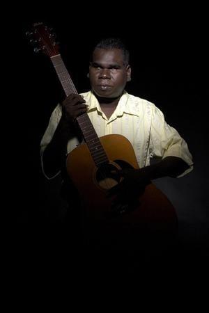 Geoffrey Gurrumul Yunupingu http://www.smh.com.au/news/music/aboriginal-music-gets-an-angelic-new-voice/2008/03/30/1206850699533.html?page=fullpage