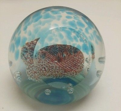 *Limited Edition* Caithness Glass Paperweight 'Round the Twist' No 255/750