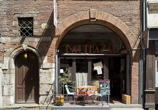 Restaurant Balthazar, 50, rue des couteliers Toulouse 31000. Envie : Cuisine du marché, Néobistrot. Les plus : Antidépresseur, Terrasse, 13 à table.