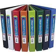 Our binders come in a variety of colors, patterns, and sizes. We offer 1 inch, 1 and a half inch, 2 inch,2 and a half inch, and 3 inch binders.