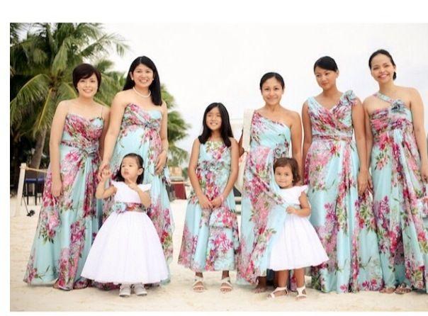 Waves And Wedding Wonder Bridesmaids Dress