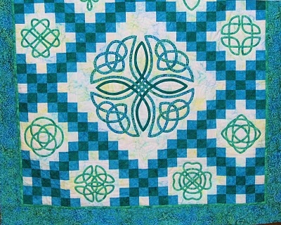 1000 Images About Celtic Bias Tape Quilts On Pinterest