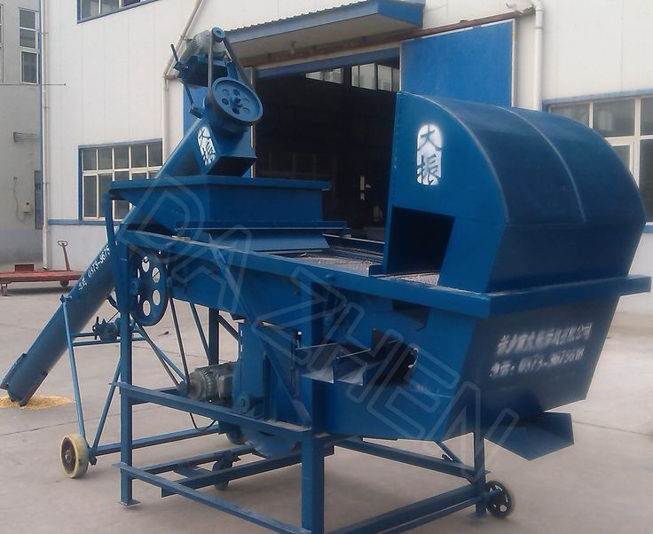 DZL-8 grain throwing and cleaning machine for grain cleaning, grading and loading granaries!