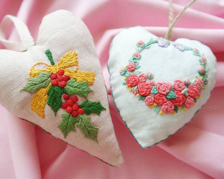 . 벌써 12월이라니... . . #프랑스자수#핸드메이드#handmaid#embroidery#자수#선물#청주