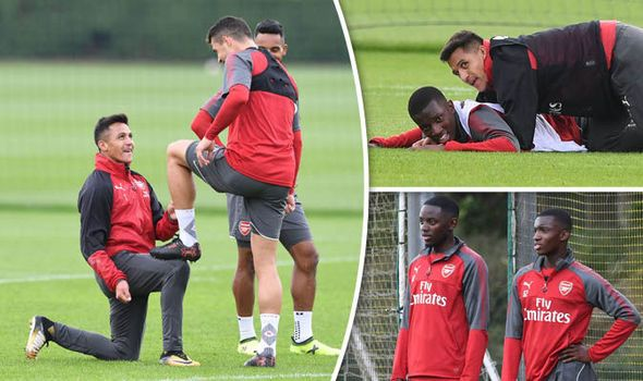 Sanchez bundles youngster and shines team-mate's boot in training ahead of Doncaster tie   via Arsenal FC - Latest news gossip and videos http://ift.tt/2f7Jk7H  Arsenal FC - Latest news gossip and videos IFTTT