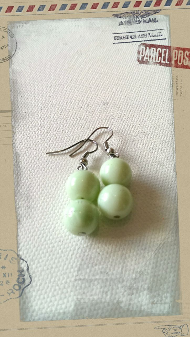 Popsie Ltd - Glass Pearl Earrings Mint Green, $16.17 (http://www.popsie.co.nz/glass-pearl-earrings-mint-green/)