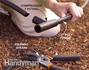How to install an Irrigation System in Your Yard Reduce the time you spend watering to practically zero