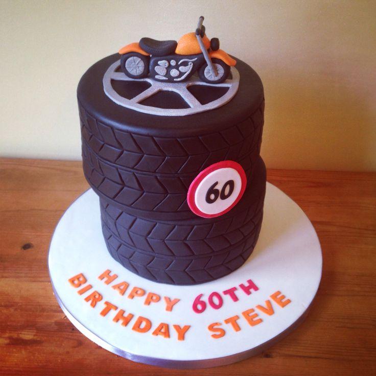 Tyre Birthday Cake