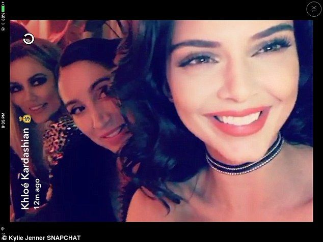 Gorgeous! Kylie's model sister Kendall looked simply stunning