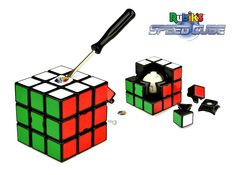Gave til ham - Rubiks Speed Cube, Løs terningen hurtigere og mere professionelt!