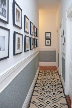 narrow hallway decorating on pinterest hallway decorating - Hallway Decorating Ideas