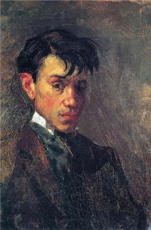 Self-Portrait, 1896 ~ Pablo Picasso